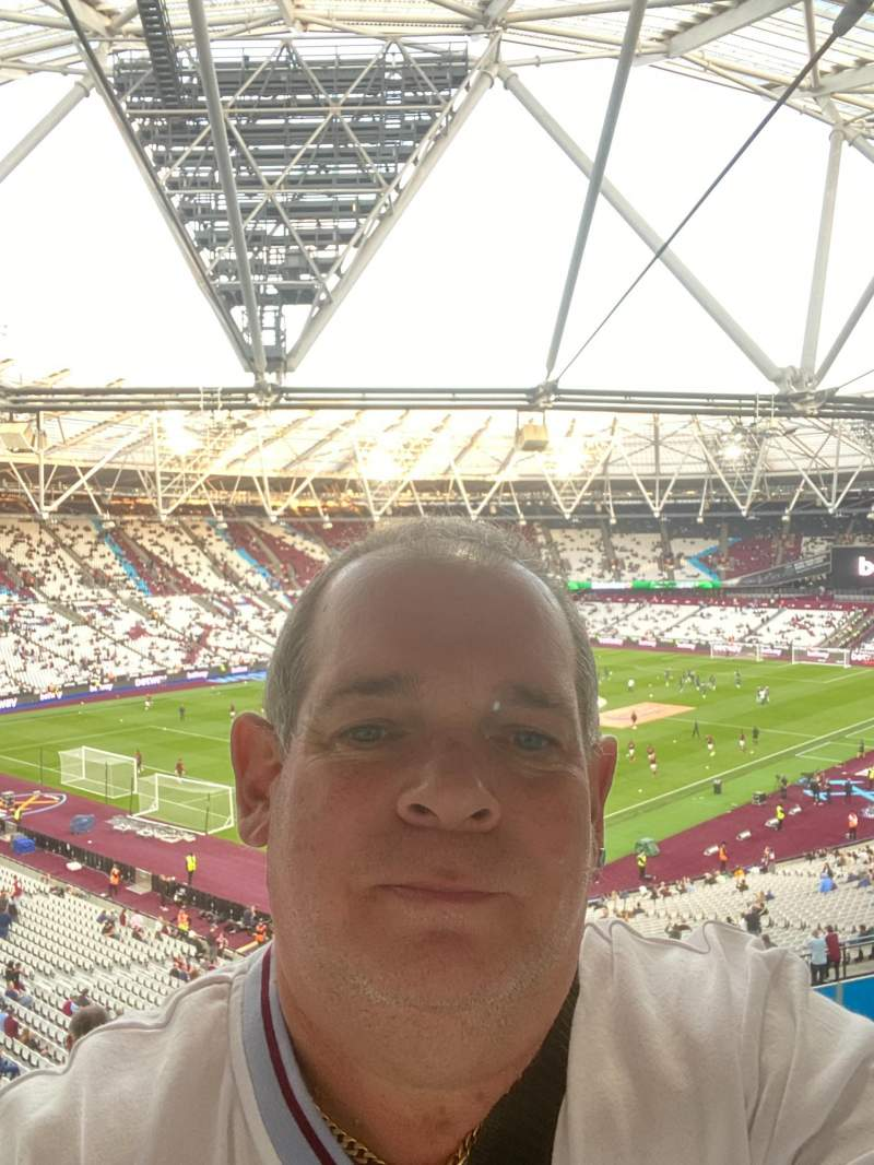 Seating view for London Stadium Section 201 Row 50 Seat 663