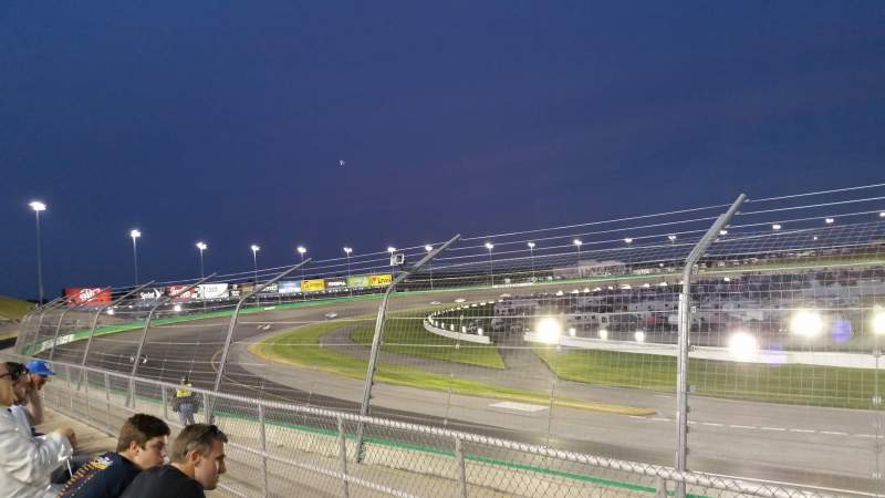 Seating view for Kentucky Speedway Section Grandstand 6C Row 2 Seat 6