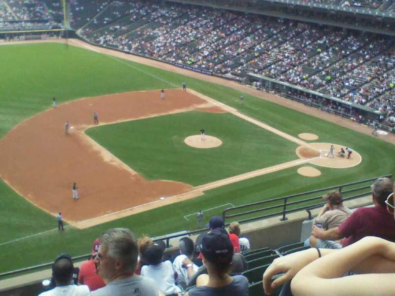 Seating view for Guaranteed Rate Field Section 544 Row 9 Seat 11
