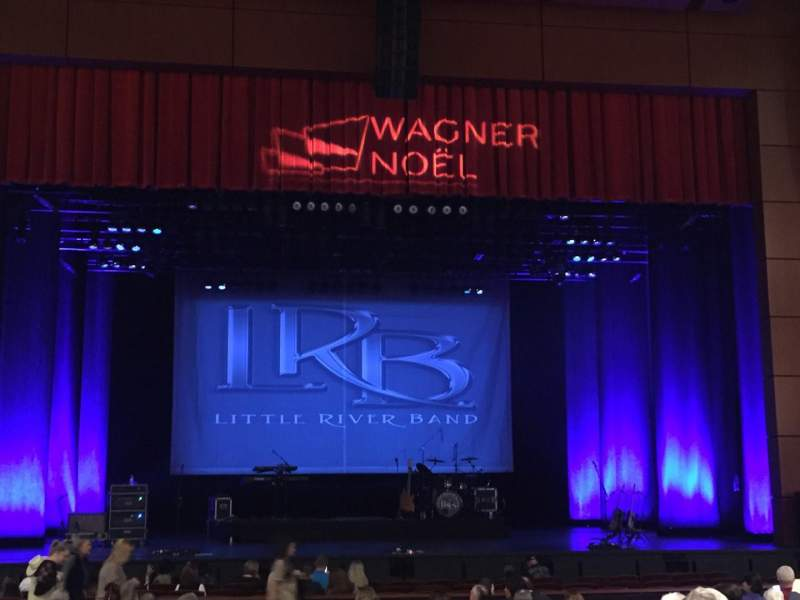 Seating view for Wagner Noël Performing Arts Center Section Orch Row R Seat 114
