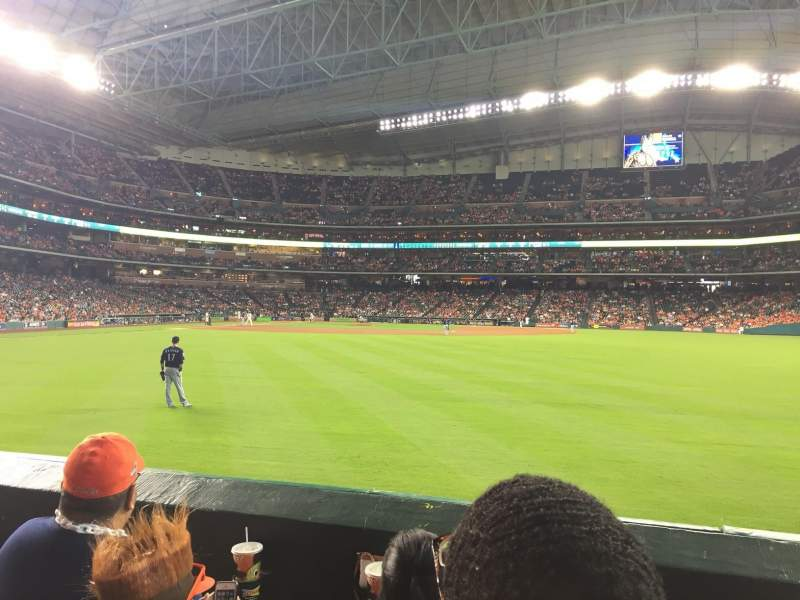 Minute Maid Park, section: 154, row: 3, seat: 14
