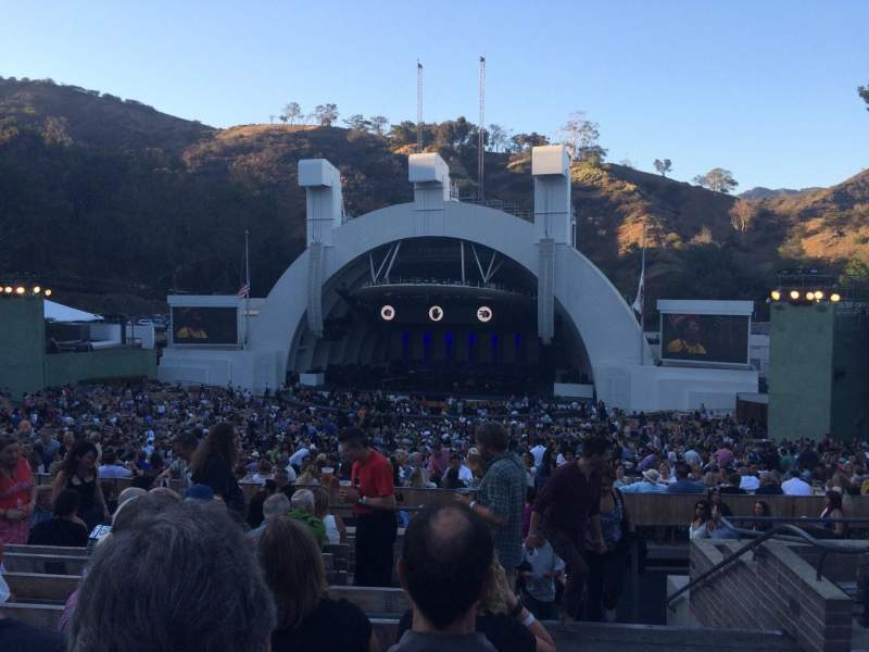 Seating view for Hollywood Bowl Section G2 Row 10 Seat 42