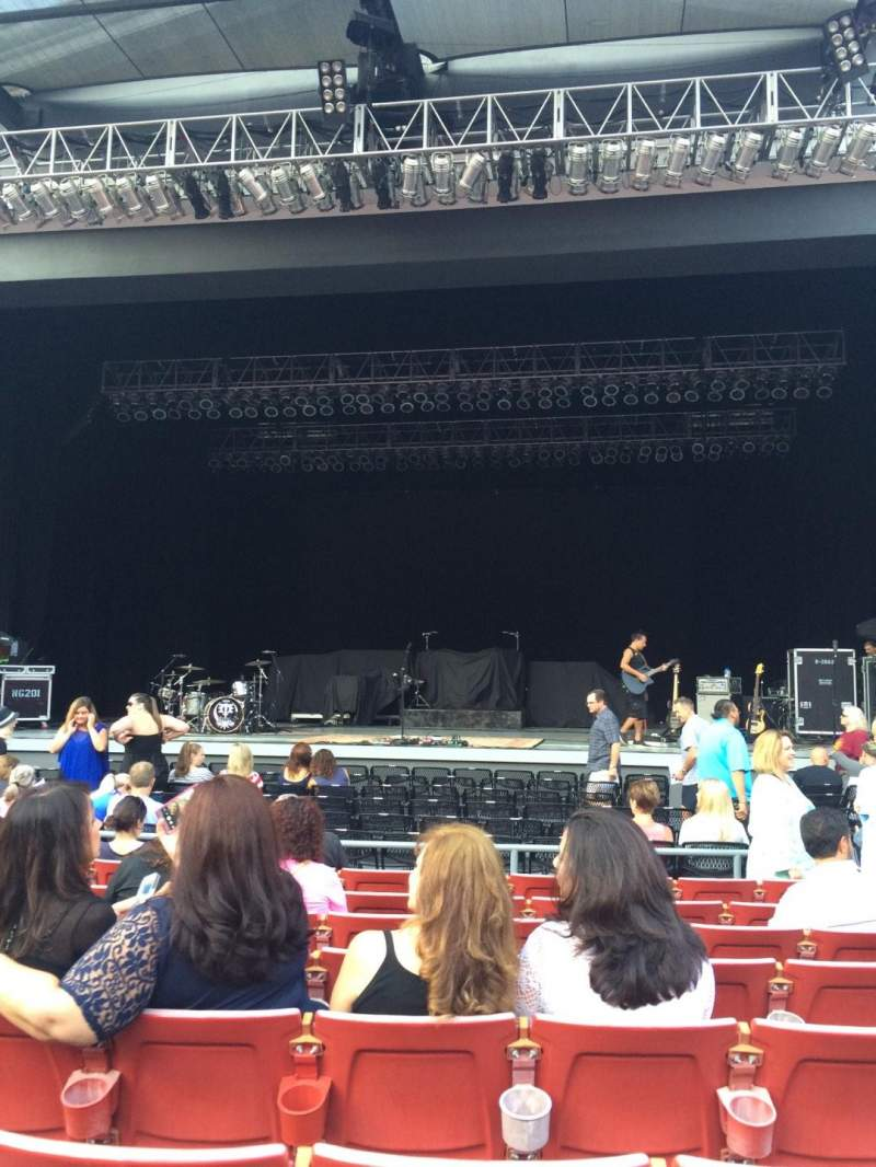 Seating view for The Greek Theatre Section A Center Row H Seat 106