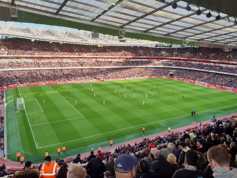 Seating view for Emirates Stadium Section 94 Row 15 Seat 12