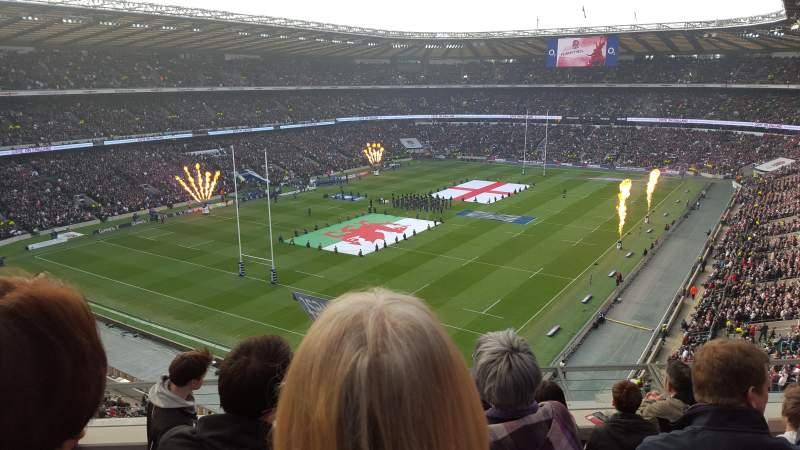 Twickenham Stadium, section: U41, row: E, seat: 72