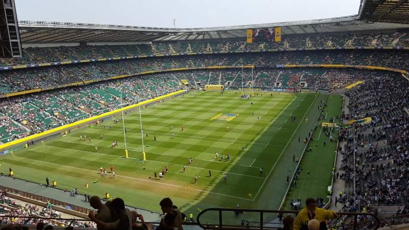 Twickenham Stadium, section: U16, row: L, seat: 21
