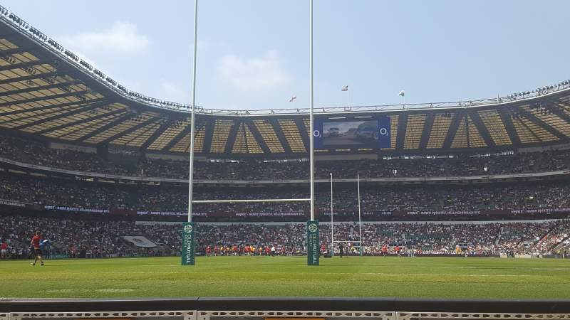 Seating view for Twickenham Stadium Section Enclosure 7 Row 1 Seat 151