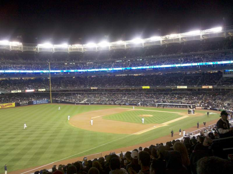 Seating view for Yankee Stadium Section 229 Row 16 Seat 12