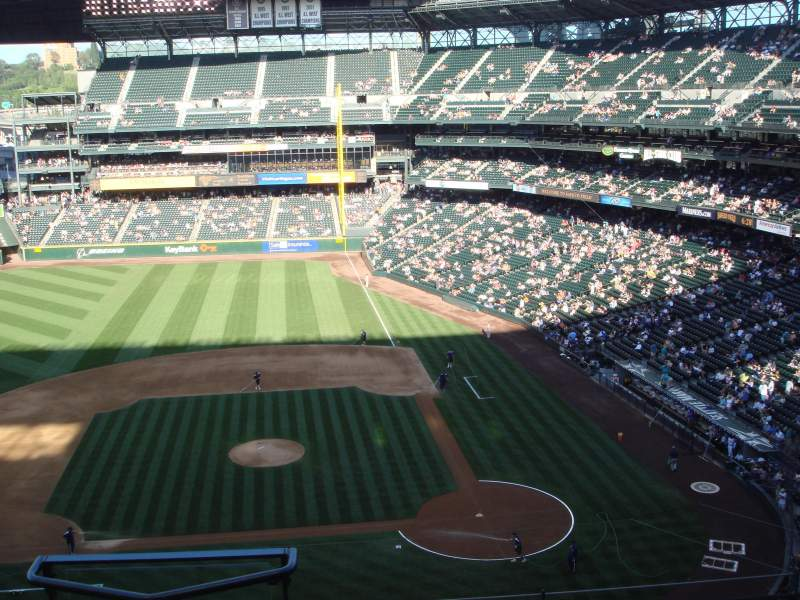 Seating view for Safeco Field Section 335 Row 5 Seat 15