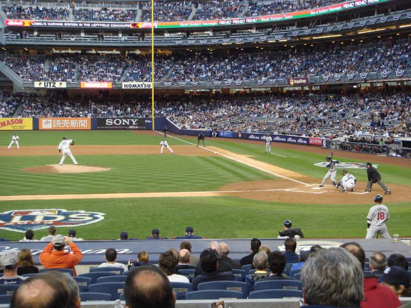Seating view for Yankee Stadium Section 123 Row 16 Seat 5