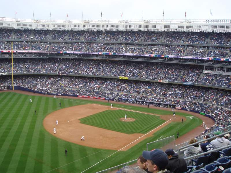 Seating view for Yankee Stadium Section 330 Row 6