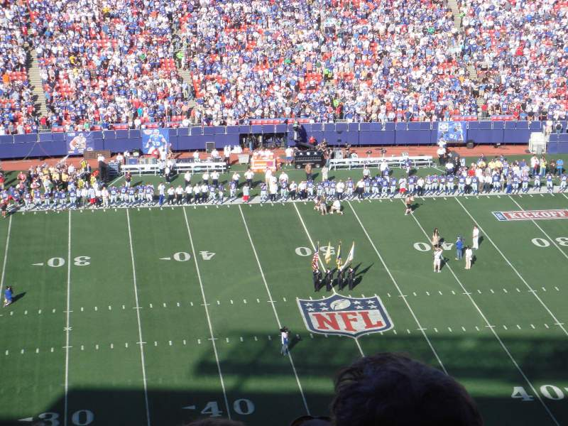 Seating view for Old Giants Stadium Section 332 Row 30 Seat 15