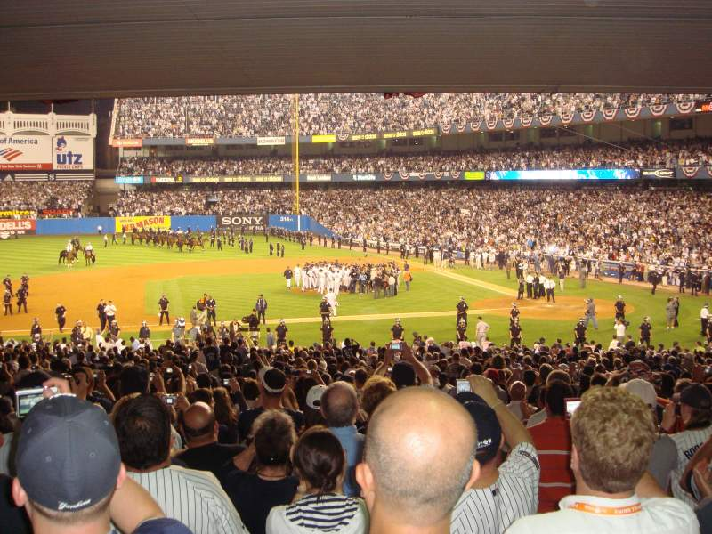 Seating view for Old Yankee Stadium Section M14 Row G Seat 1