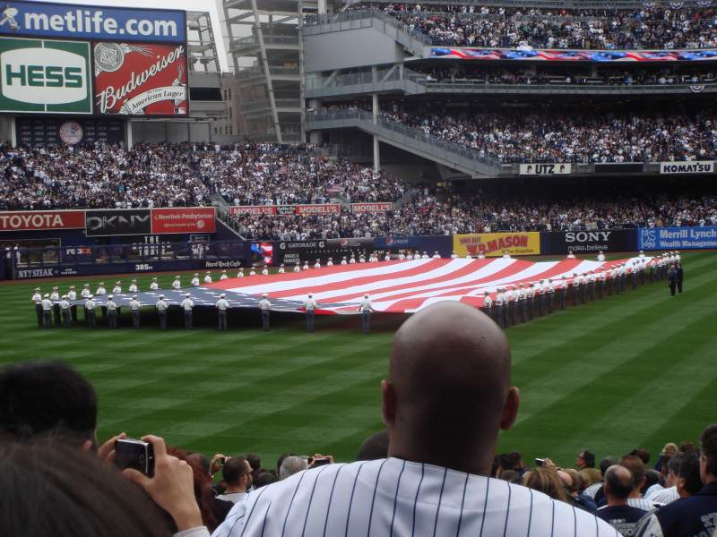 Seating view for Yankee Stadium Section 130 Row 24 Seat 14