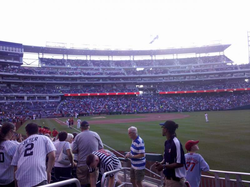 Seating view for Nationals Park Section 137 Row S Seat 24