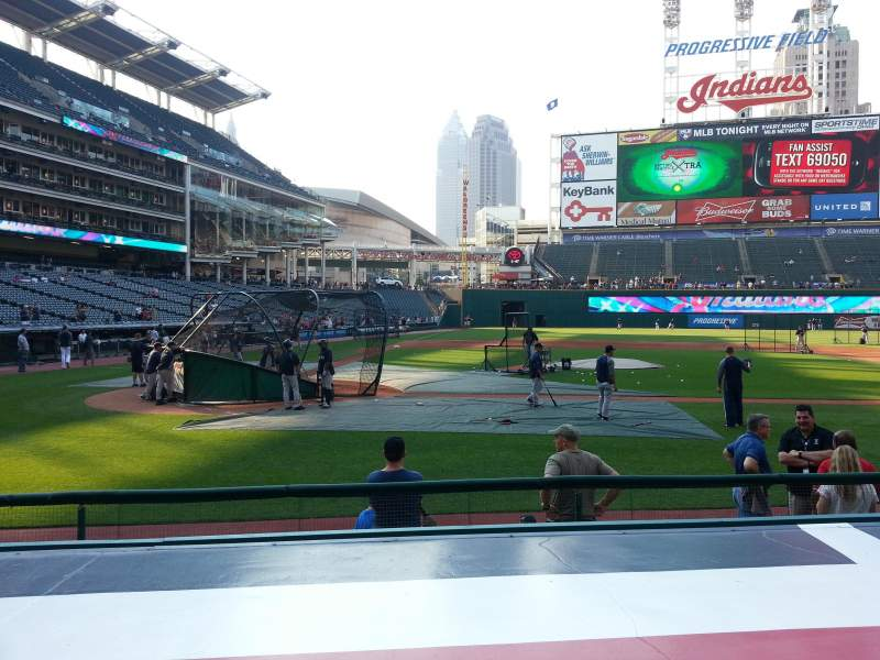 Seating view for Progressive Field Section 148 Row 2 Seat 6