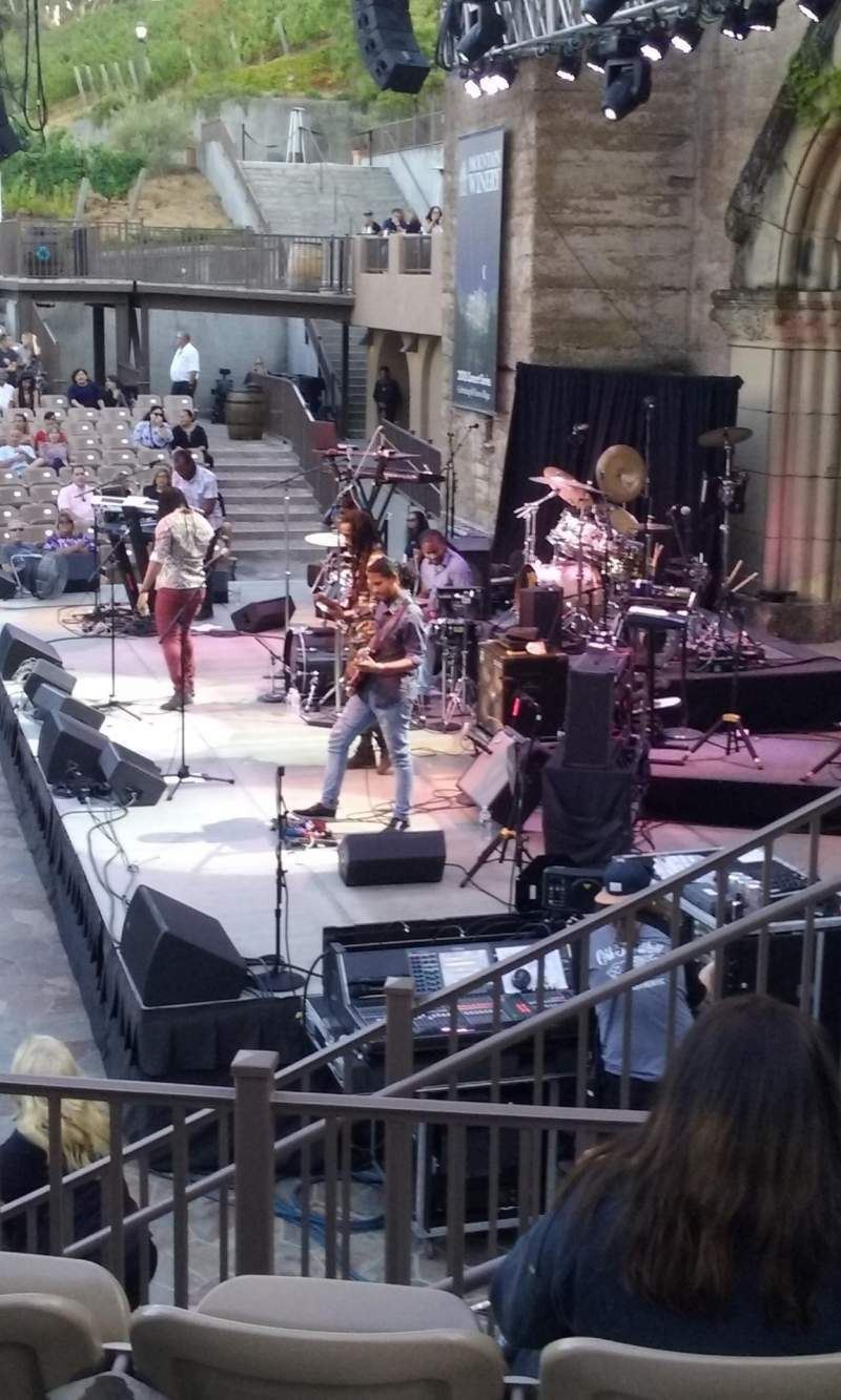 Seating view for Mountain Winery Section 21 Row D Seat 3and4