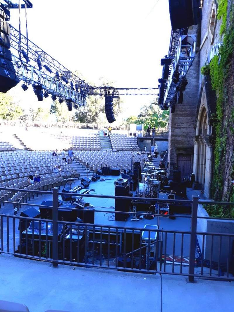 Seating view for Mountain Winery Section 20 Row C Seat 3