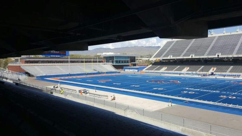 Seating view for Albertsons Stadium Section 6 Row U Seat 2