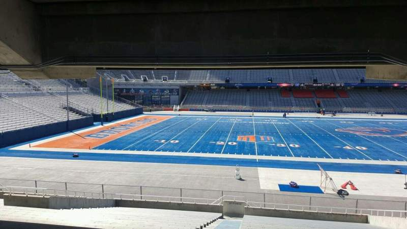 Seating view for Albertsons Stadium Section 24 Row T Seat 33