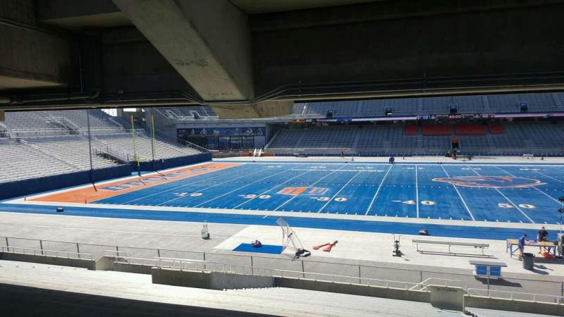 Seating view for Albertsons Stadium Section 24 Row T Seat 2