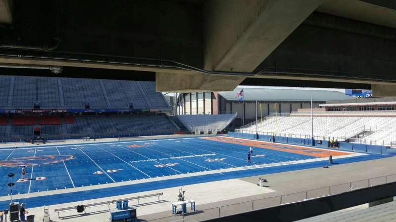 Seating view for Albertsons Stadium Section 23 Row W Seat 10