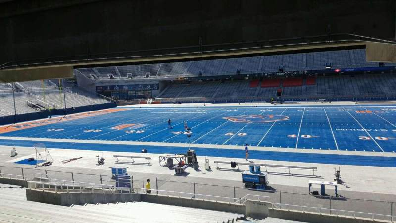 Seating view for Albertsons Stadium Section 22 Row W Seat 22