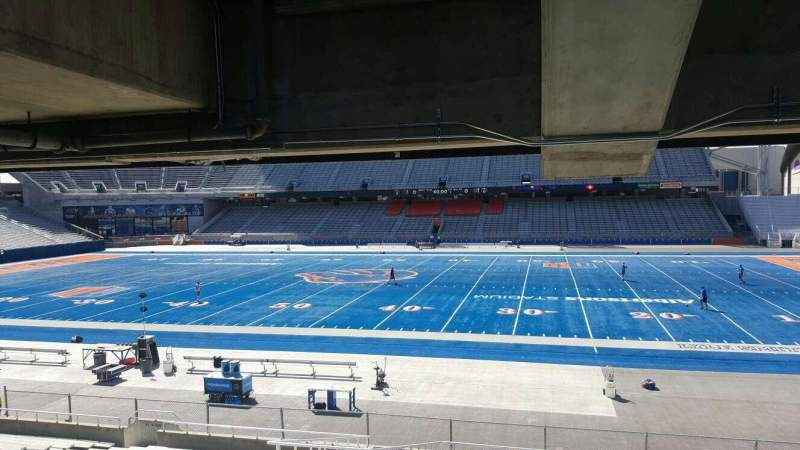 Seating view for Albertsons Stadium Section 22 Row W Seat 6
