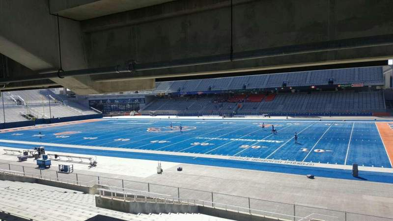 Seating view for Albertsons Stadium Section 20 Row W Seat 10