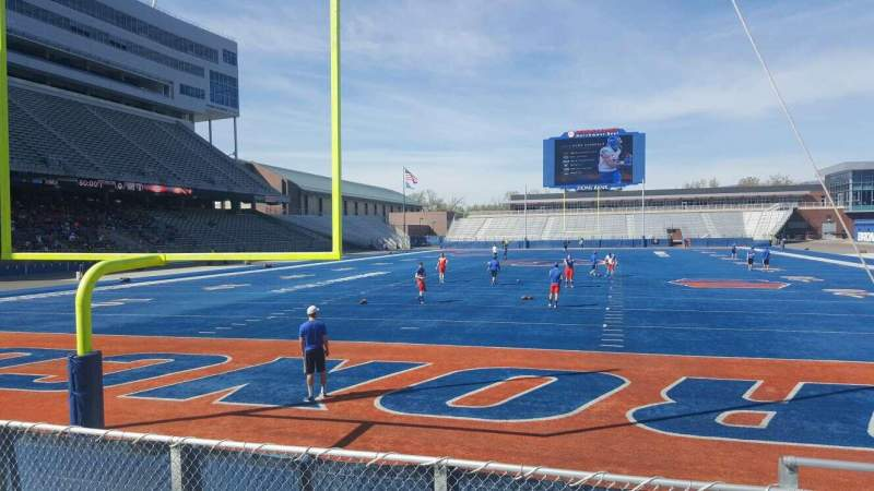 Seating view for Albertsons Stadium Section 33 Row E Seat 3