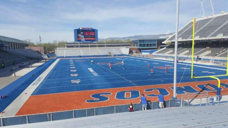 Seating view for Albertsons Stadium Section 34 Row S Seat 22