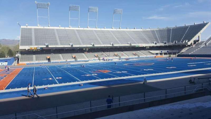 Seating view for Albertsons Stadium Section 10 Row N Seat 33