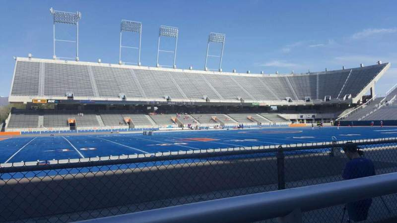 Seating view for Albertsons Stadium Section 10 Row A Seat 29