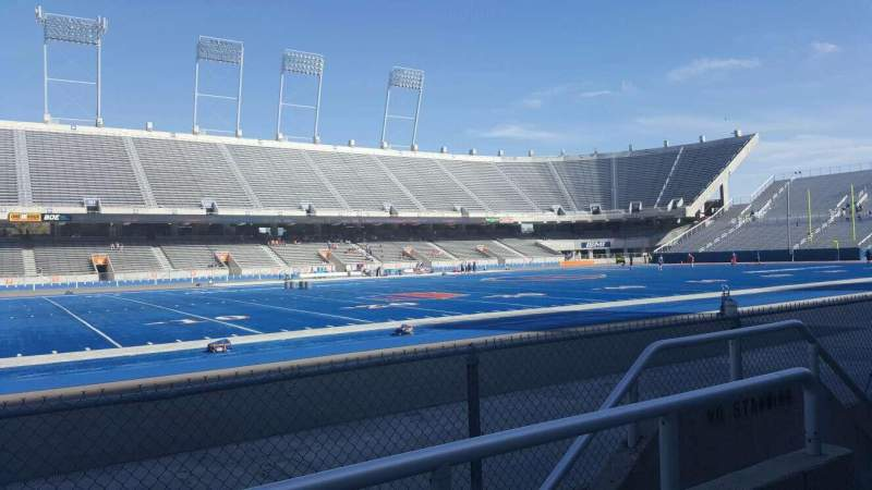 Seating view for Albertsons Stadium Section 11 Row B Seat 6