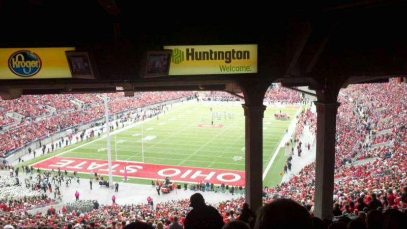 Seating view for Ohio Stadium Section 3B Row 13 Seat 22