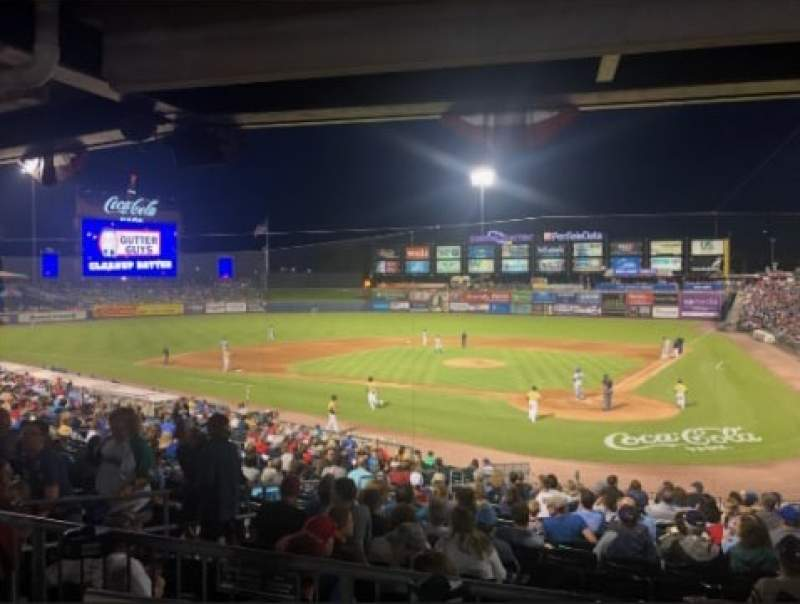 Seating view for Coca-Cola Park Section 114 Row Behind Seat GA