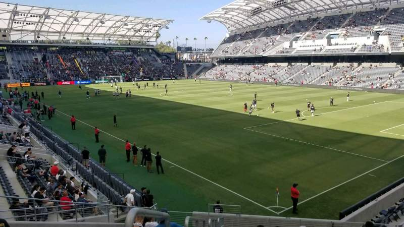 Seating view for Banc of California Stadium Section 125 Row R Seat 31