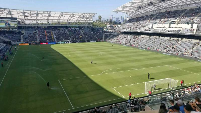 Seating view for Banc of California Stadium Section 224 Row L Seat 20