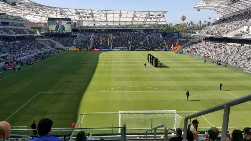 Seating view for Banc of California Stadium Section 223 Row H Seat 1