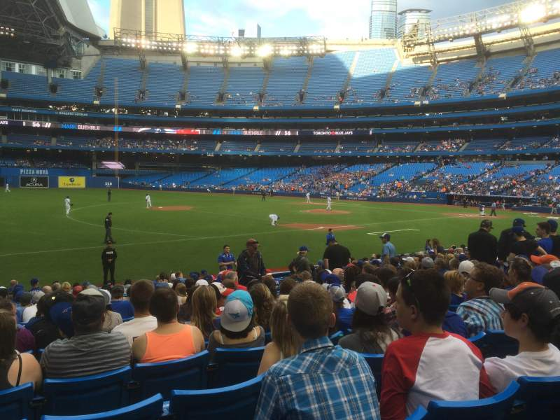 Seating view for Rogers Centre Section 130AR Row 19 Seat 10