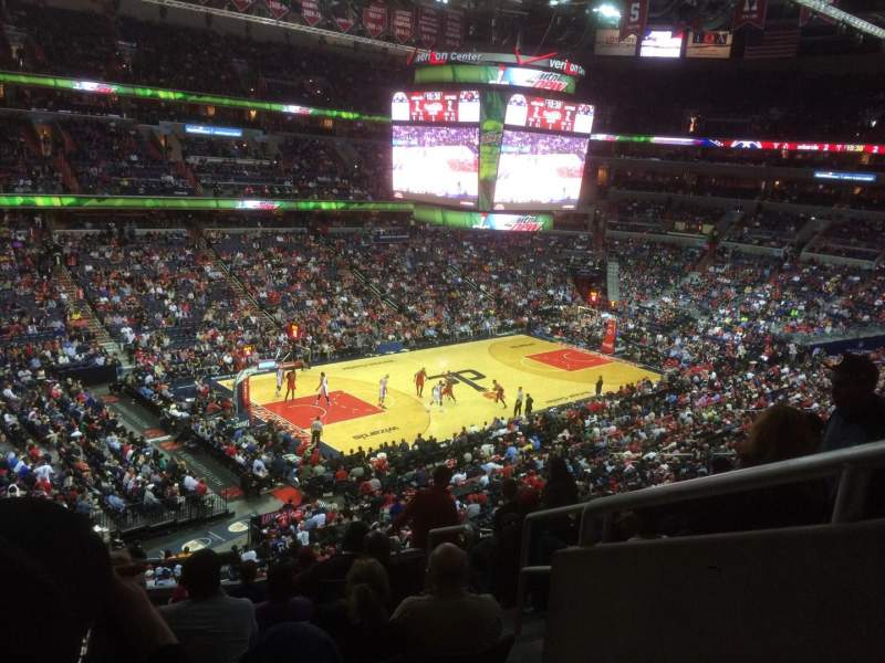 Seating view for Verizon Center Section 226 Row K Seat 9