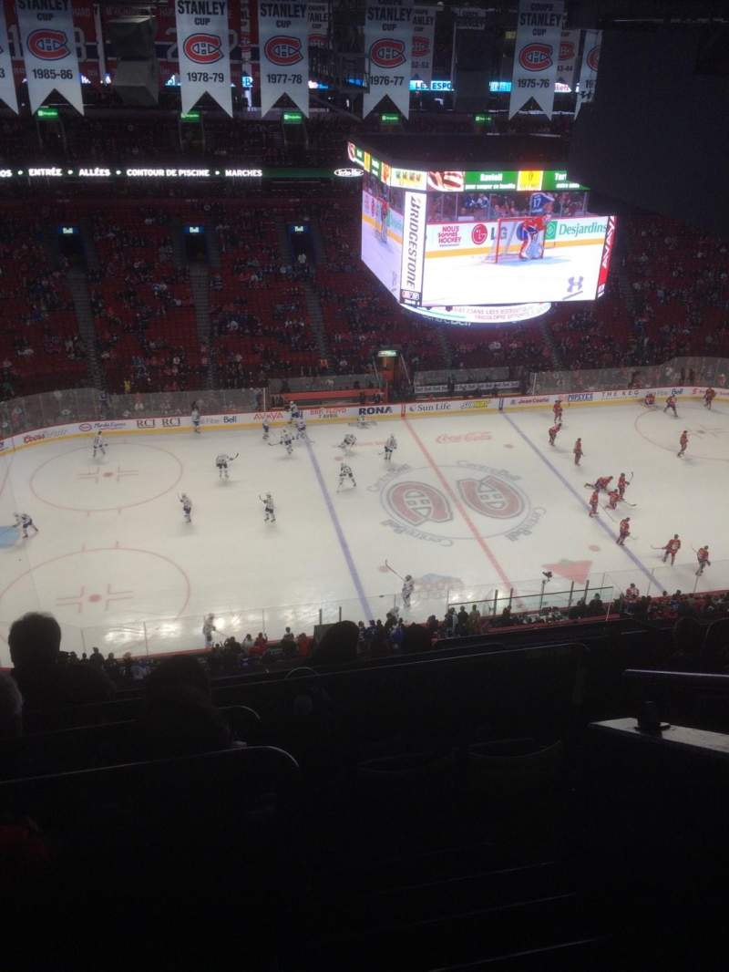 Seating view for Centre Bell Section 321 Row FF Seat 1