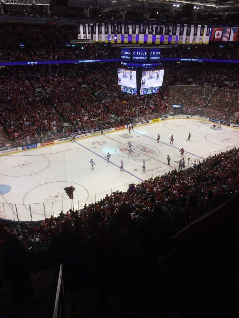 Seating view for Air Canada Centre Section 311 Row 9 Seat 30
