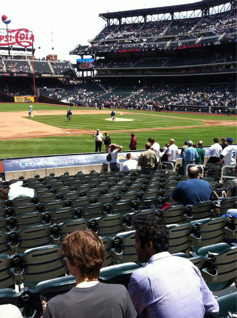 Seating view for Citi Field Section 123