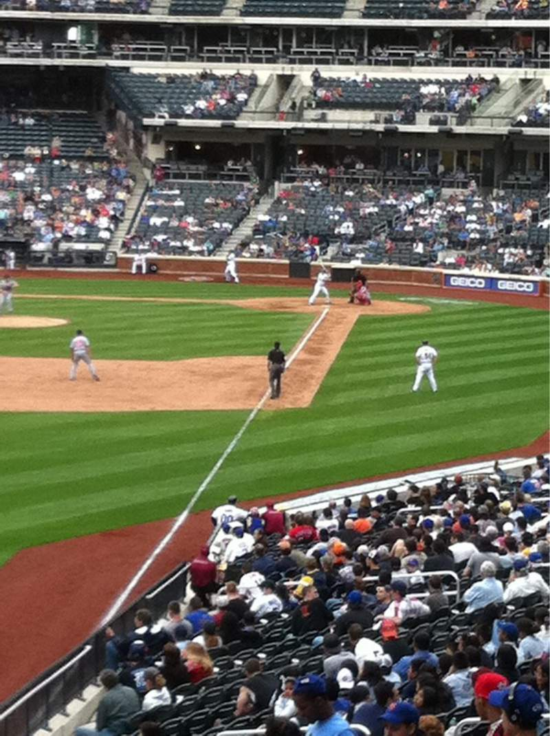 Seating view for Citi Field Section 231