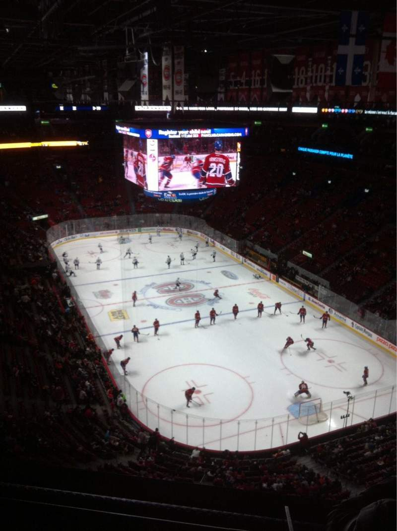 Seating view for Centre Bell Section 312 Row BB Seat 11
