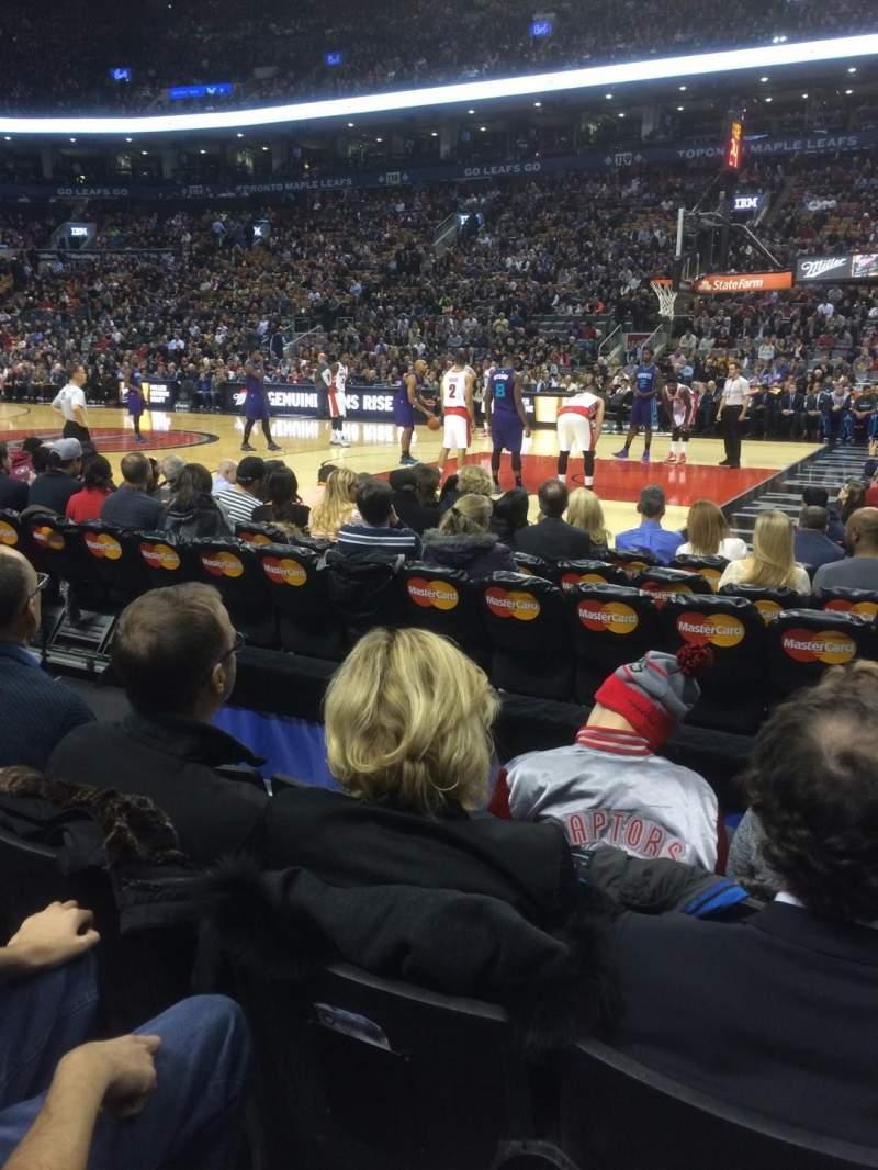 Air Canada Centre Section 107 Home Of Toronto Maple Leafs Toronto Raptors Toronto Rock