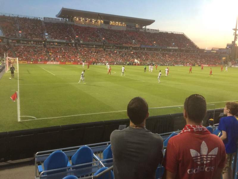 Seating view for BMO Field Section 111 Row 4 Seat 4