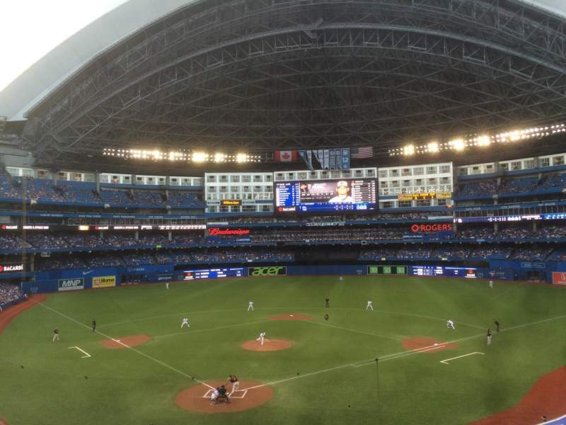 Seating view for Rogers Centre Section 223L Row 4 Seat 108
