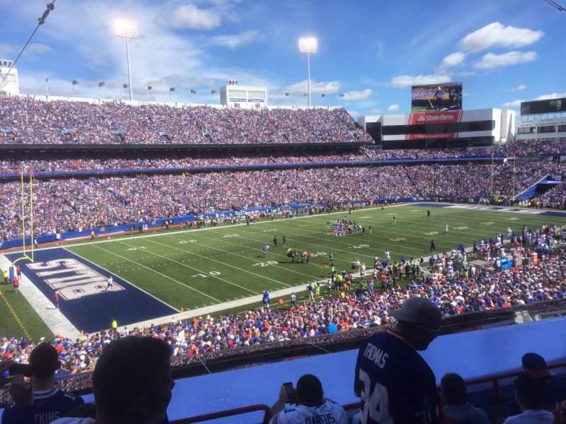 New Era Field, section: 238, row: 5, seat: 1